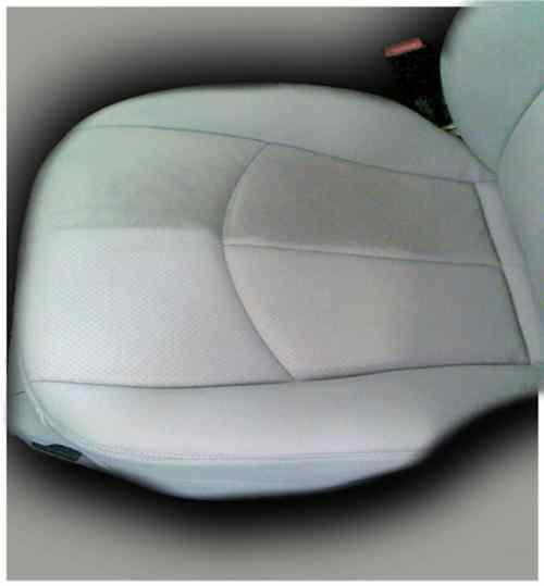 Grauer Riese Autositz