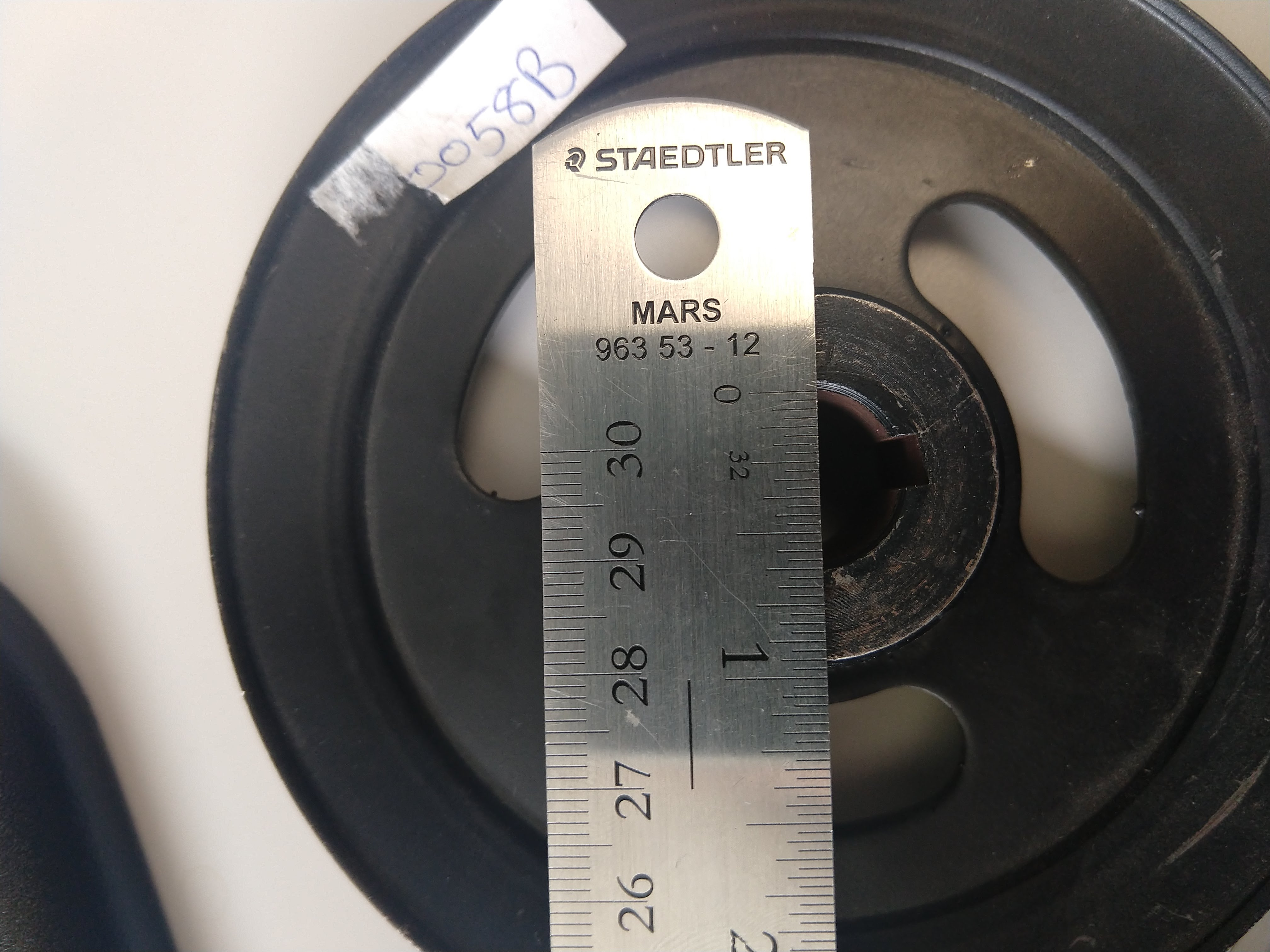 Pulley Size And Rpm Calculator