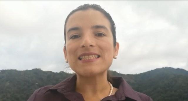 Colombian activist Martha Alfonso
