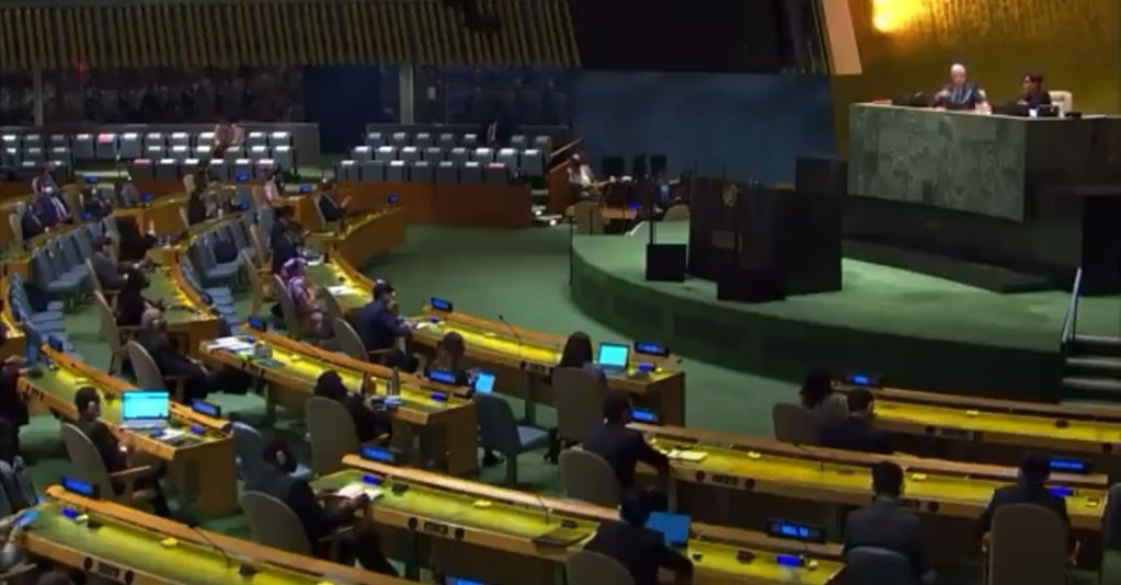 UN vote on Cuba