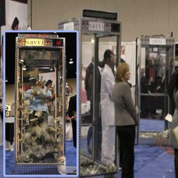 Vault Money Booth Cash Cube