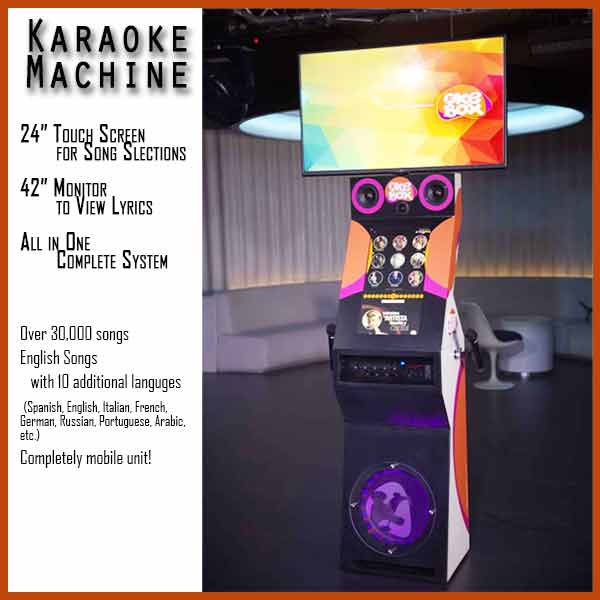 Karaoke Machine Details about Singing Machine
