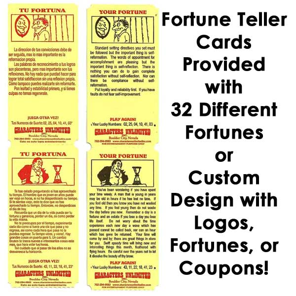 Fortune Cards from Zoltar