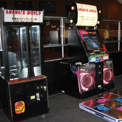 Custom Claw Machine and DDR Machine Rentals