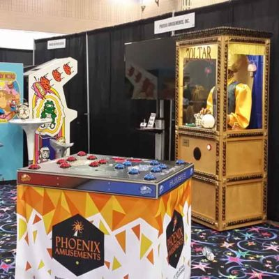 Retro Booth with Zoltar