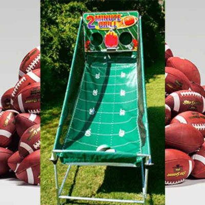 Football Toss Game - 2 Minute Drill