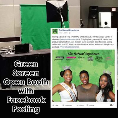 Green Screen Photography with Facebook Posting