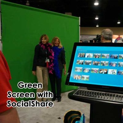Green Screen Photography at Tradeshow