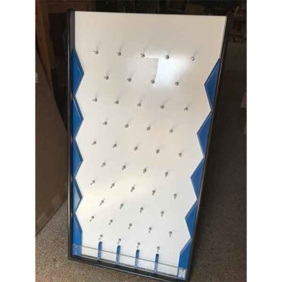 Plinko Board Blue Edges