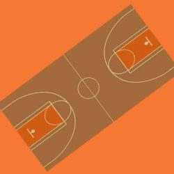 Booth Flooring - Basketball Carpet