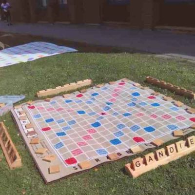 Awesome Giant Scrabble