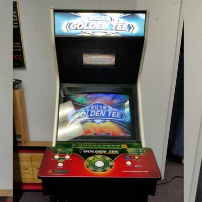 2018 Golden Tee Golf Arcade Game