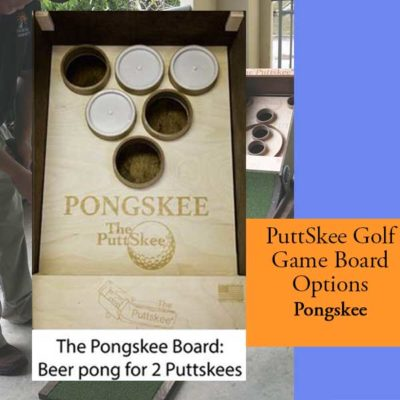 Golf Putting Game Pong Board