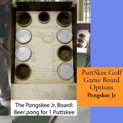 Golf Putting Game Pong Jr Board