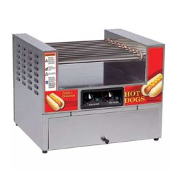Hot Dog Roller Rental with Bun Warmer Too