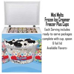 Mini Melts Freezer and Ice Cream Rental