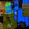 Custom Giant Tetris Pedestal Side View