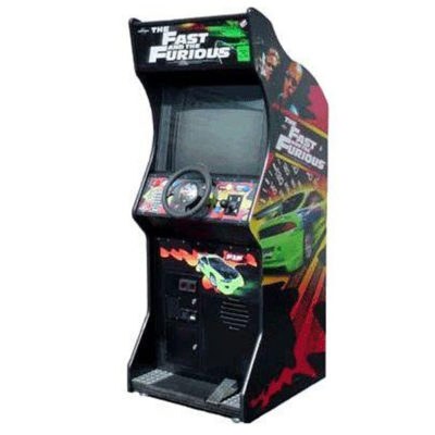 Racing Simulator Fast and Furious Upright Arcade Game