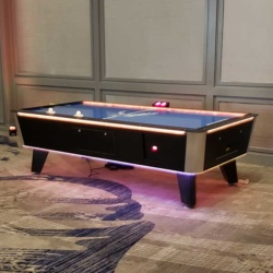 Glow Air Hockey Table Rental