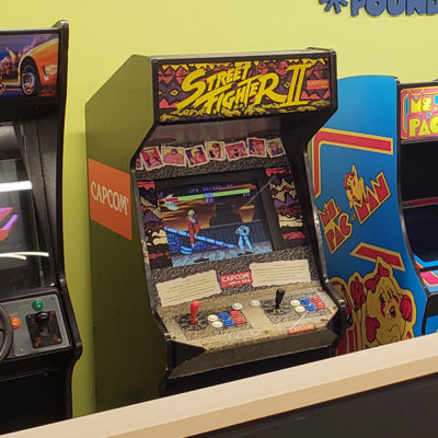 Fighting Arcade event game rental