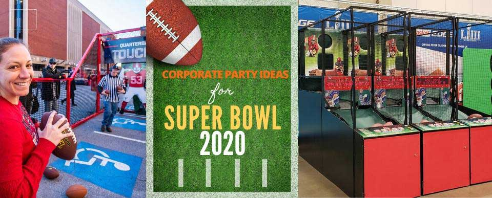 Adult Games for Corporate Super Bowl Party