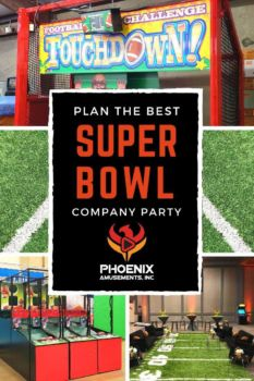 Football Games for Super Bowl Company Party
