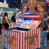 Carnival Bounce A Ball Game in tradeshow booth
