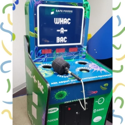 Custom Branded Whack a Mole Game for trade show