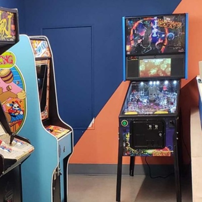 Guardians of the Galaxy Pinball Machine in Corporate Game Room