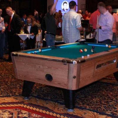 LED Pool Table Rentals