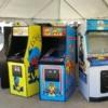 Classic Arcade Games at Street Fair