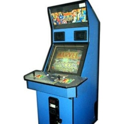Superhero Arcade Machine Rental