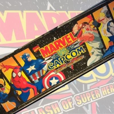 Marvel Vs Capcom Arcade Artwork