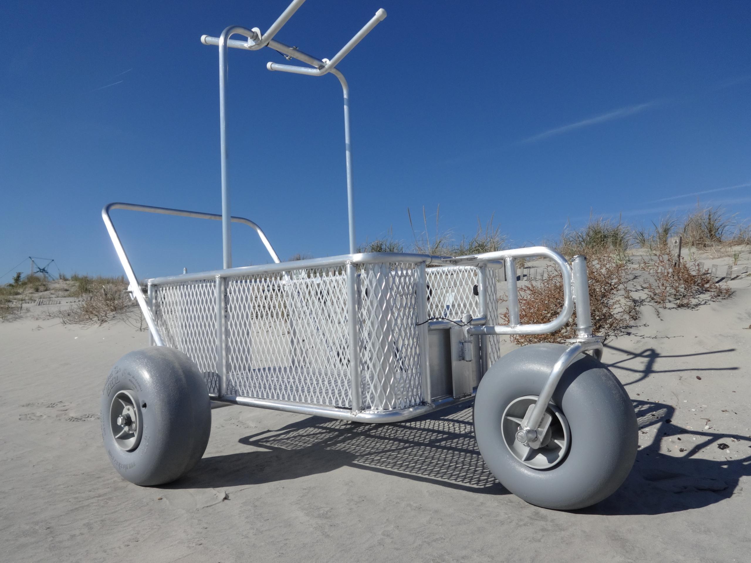 fishing chair hand wheel office knobs phoenix beach buggy cart