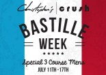 Celebrate Bastille Week at Christopher's