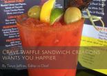 Crave Waffle Sandwich Creations Wants You Happier