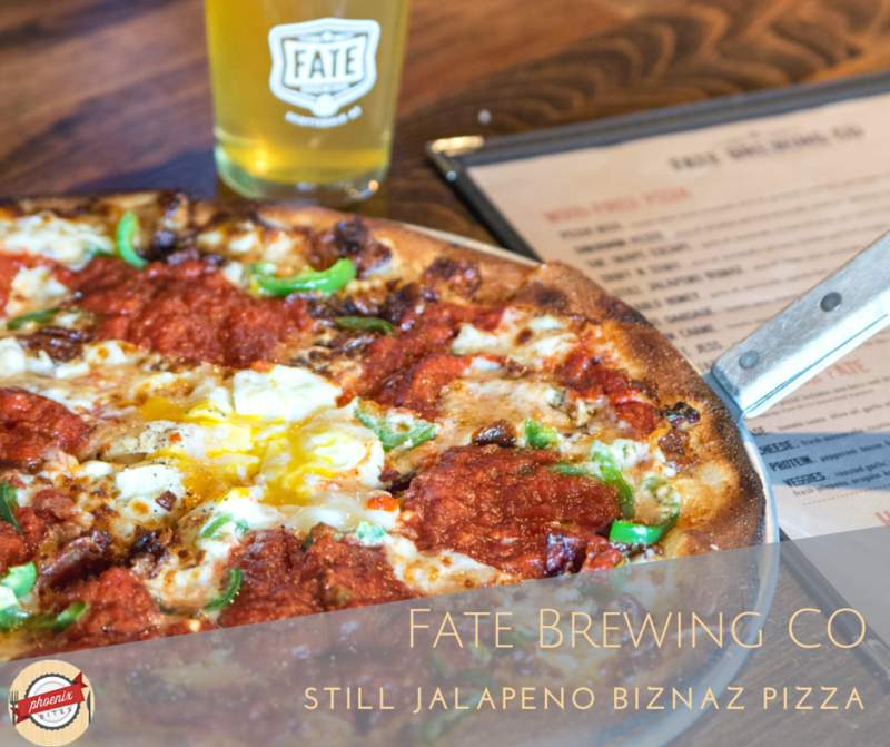 7 of the Best Restaurants in Scottsdale for Dude Food_Fate Brewing Co Still Jalapeno Biznaz Pizza
