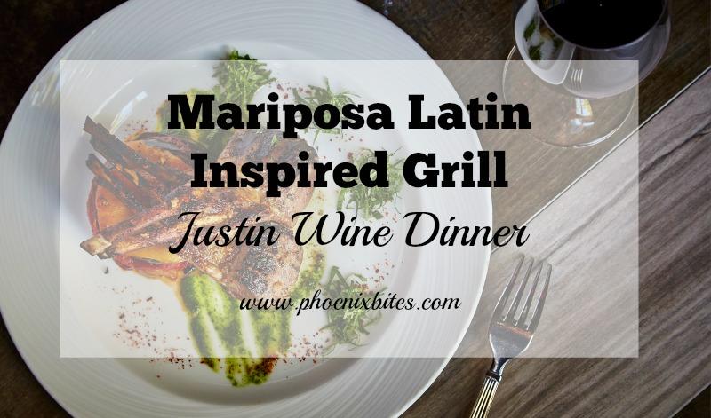 Mariposa Latin Inspired Grill Justin Wine Dinner