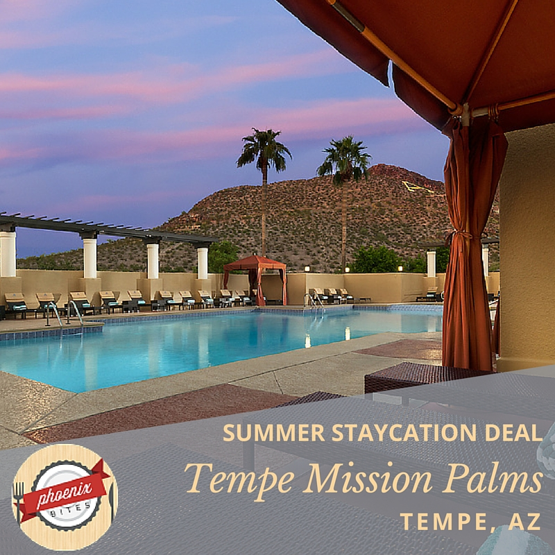 Tempe Summer Staycation Deal