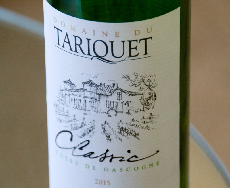 Tariquet Classic White 2015: Summer & seafood