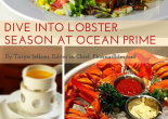 DIVE INTO LOBSTER SEASON AT OCEAN PRIME