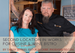 Second Location in Works for Cuisine & Wine Bistro