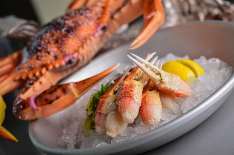 Crab & Mermaid Fish Shop Summer Specials Snow Crab Claws