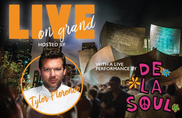 Los Angeles Food & Wine Festival_LIVE on Grand Avenue with Tyler Florence