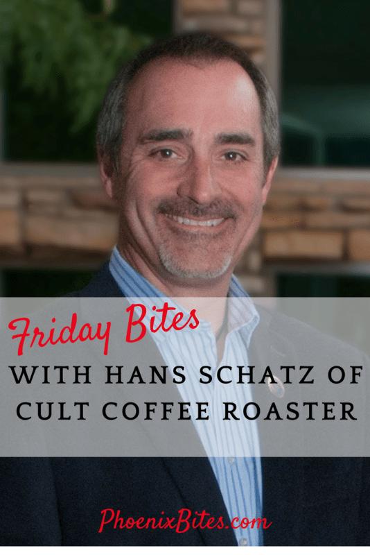Friday Bites with Hans Schatz
