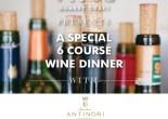 Antinori Wine Dinner at Virtu