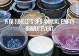 Pita Jungle's 3rd Annual Empty Bowls Event: phoenixbites.com