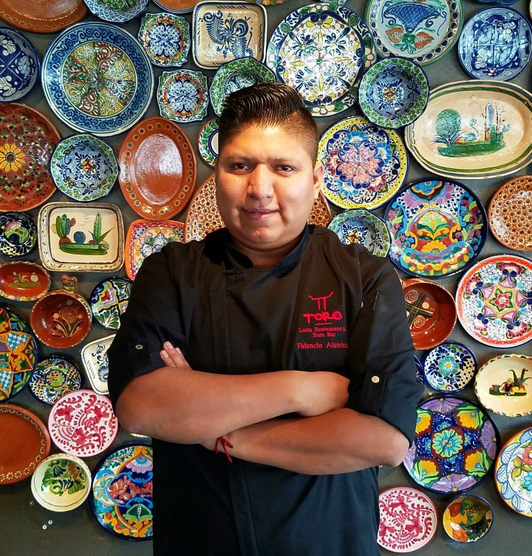 Fun Facts about our favorite chefs: Chef Fidencio Alatriste
