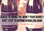 Asked to Bring the Wine? Your Bubbly First Step To Buying Sparkling Wine
