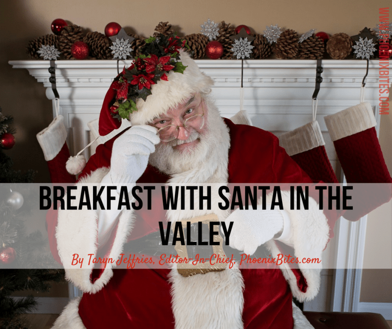 Spots to Have Breakfast With Santa in the Valley